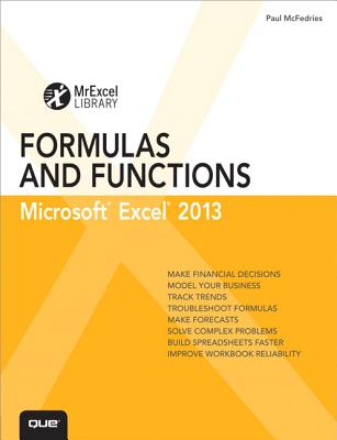 Excel 2013 Formulas and Functions By McFedries, Paul